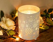 Wax Burner - Snowfall Owlchemy Electric wax warmer with light & dimmer
