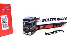 Herpa Scania R TL Kühlkoffer-Sattelzug Wolter Koops (NL)  1/87