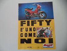 advertising Pubblicità 1995 MALAGUTI FIFTY TOP 50