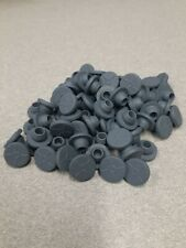 50pcs Rubber Stoppers Self Healing Injection Ports Inoculation For 7mm Opening