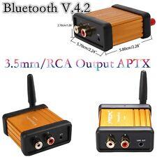 V4.2 MINI RICEVITORE BLUETOOTH AUDIO STEREO HI-FI BOX ADATTATORE SUPPORTO aptX DC 5v