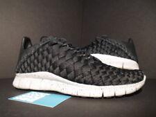 2012 Nike FREE INNEVA WOVEN NRG NSW BLACK WOLF GREY 553279-001 8.5