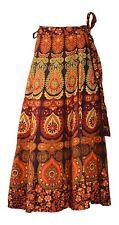 Indian Ethnic Mandala Hippie Bohemian Belly Dance Wrap Skirt Maxi Dress