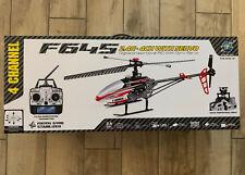 MJX F645 F45 4 Kanal RC Hubschrauber Helikopter 2,4 GHz OVP Komplett Gebraucht