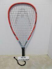 Head Ti.195 XL Racquetball Racquet 3 5/8 - EUC & NEW OVERGRIP