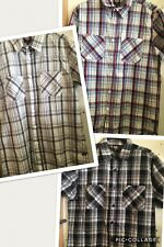 Mens Dickies Casual or Going out Button thru Cotton Shirt. Free Post