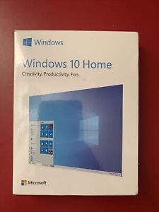 BRAND NEW MICROSOFT WINDOWS 10 HOME HAJ-00052 32/64 FULL VERSION *FACTORY SEALED