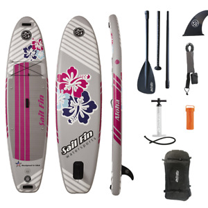 ISUP 10 feet -Inflatable Paddle Board- Sail Fin Aloha 1-Year Limited Warranty