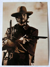 """Clint Eastwood """"FotoCard"""" Postcard, Ludlow Sales NYC, Sepia Toned, Exc."""