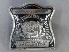Vintage Paper Clip Advertising Brass