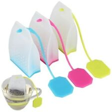 Tea Infuser Silicone Bag Style Tea Strainer Herbal Spice Filter Kitchen Tool
