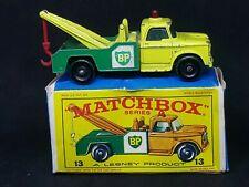 Matchbox Lesney MB13-D4 - Dodge Wreck Truck in Type E4 Box