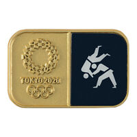 Tokyo Olympics 2020 Olympic Sport Pictogram Judo Pin Badge JAPAN