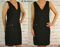 NEXT NEW BLACK LADIES WORKWEAR DRESS 592 UK 8-22