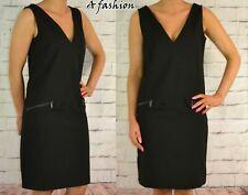 NEXT NEW BLACK LADIES WORKWEAR DRESS 592 UK 8-22