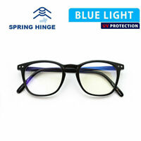 BLUE LIGHT BLOCKING GLASSES COMPUTER GAMER LCD/LED SCREEN EYEWEAR NEW