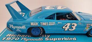 RARE RICHARD PETTY 1/24 #43 1970 MARC TIMES PLYMOUTH SUPERBIRD #999 OF 1,002