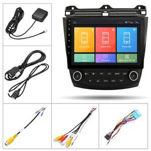 "10.1"" Car Stereo Radio Android 9.1 Quad-core GPS Navi For Honda Accord 2003-2007"