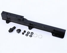 BLACK High Fuel Rail Fit Honda Acura B16 B18 LS GSR Integra B series engines