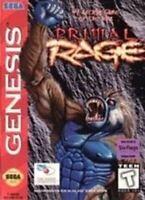 Primal Rage - Original Sega Genesis Game