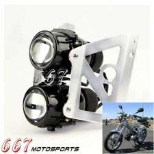 Dual Stacked Streetfighter Projector Headlight For Sachs Madass 50 125 Kikass US