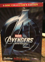 Avengers 1-4 New DVD - Complete 4-Movie Collection Endgame Included - Sealed