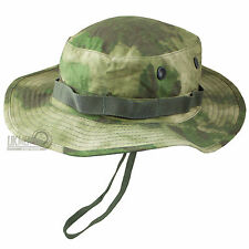 Mil-Tec Classic US Army Military GI Style Bush Sun Boonie Hat A-TACS FG Camo