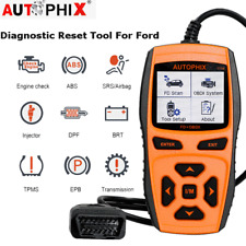 Automotive OBD2 Scanner ABS SAS SRS EPB BMS Diagnostic Tool Code Reader For Ford