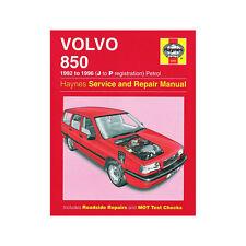 [3260] Volvo 850 2.0 2.3 2.5 Petrol 1992-96 (J to P Reg) Haynes Manual