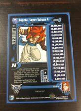 DBZ DBGT CCG Gogeta, Super Saiyan 4 Rare Level 1 #192 Shadow Dragon Goku, Vegeta