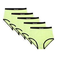 5 x Bikini Brief Womens Ladies Underwear Sizes 8 10 12 14 16 S M L XL XXL B513