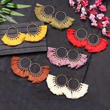 Vintage Fashion Women Bohemian Fringe Boho Tassel Hook Drop Dangle Earrings Gift