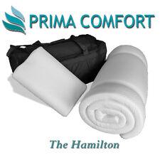 Prima Comfort Portable Memory Foam Travel Mattress Topper set -The Hamilton