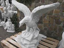Steinfigur ADLER XXL 150 kg 105 cm Tierfigur Gartenfigur Greifvogel Vogel Neu