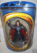 #8259 NRFB Toy Biz Lord of the Rings Return King Pelennor Fields Aragorn Figure