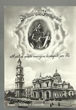 vecchia cartolina ricordo di pompei con immagine madonna 2