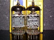 Siemens & Halske E82CC ECC802S ECC82 Matched pair (triple mica, Munich, Germany)