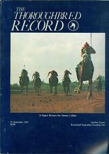 1983 Thoroughbred Record Magazine: Return for Sunny's Halo/Keeneland Sale