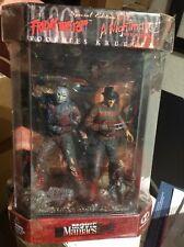 Freddy Krueger vs Jason Voorhees McFarlane Movie Maniacs Blood Splatter fishtank