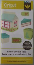 SWEET TOOTH BOXES 3D shapes cricut cartridge - NEW in BOX
