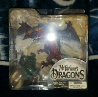McFarlane's Dragons Series 2 Fire Clan Dragon Figure Quest for the Lost King
