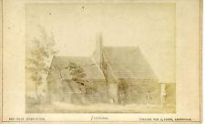 Altes CDV-Foto 19. Jahrhundert Zeichnung Amsterdam Zaandam Czaar Peter-Huisjr
