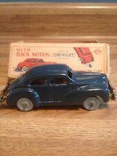 Chevrolet Blue Tin Wind-Up With Back Motion Occupied Japan SKK - Original Box