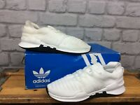 ADIDAS UK 3.5 EU 36 EQUIPMENT RACING ADV WHITE BLACK TRAINERS LADIES CHILDRENS