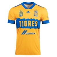 adidas Tigres UANL Official 2020 2021 Home Soccer Jersey | eBay