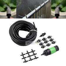 Garden Patio Water Air Misting Cooling System Sprinkler Nozzle Micro Irrigation