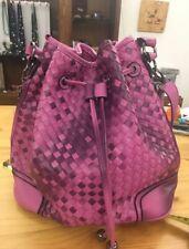 Borsa Guess zaino Manhattan small backpack ecopelle rosa blush donna BS20GU124