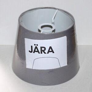 """Ikea Lamp Shade Jara gray canvas NEW sealed 10"""" 703.283.58"""