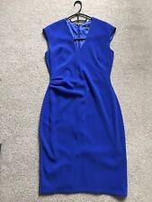 Womens, Coast, Cobalt Blue Formal Dress, UK 12, Sleeveless, Knee Length