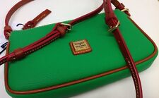 DOONEY & BOURKE COATED CANVAS EVA LEXI CROSSBODY KELLY GREEN XV400KL MSRP $98